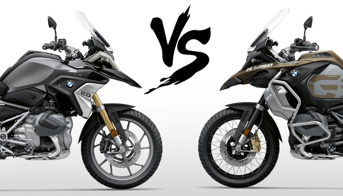 bmw r1250gs vs 1250 gsa